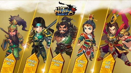 Tai Game Ho Tuong Truyen Ky cho Android iOS
